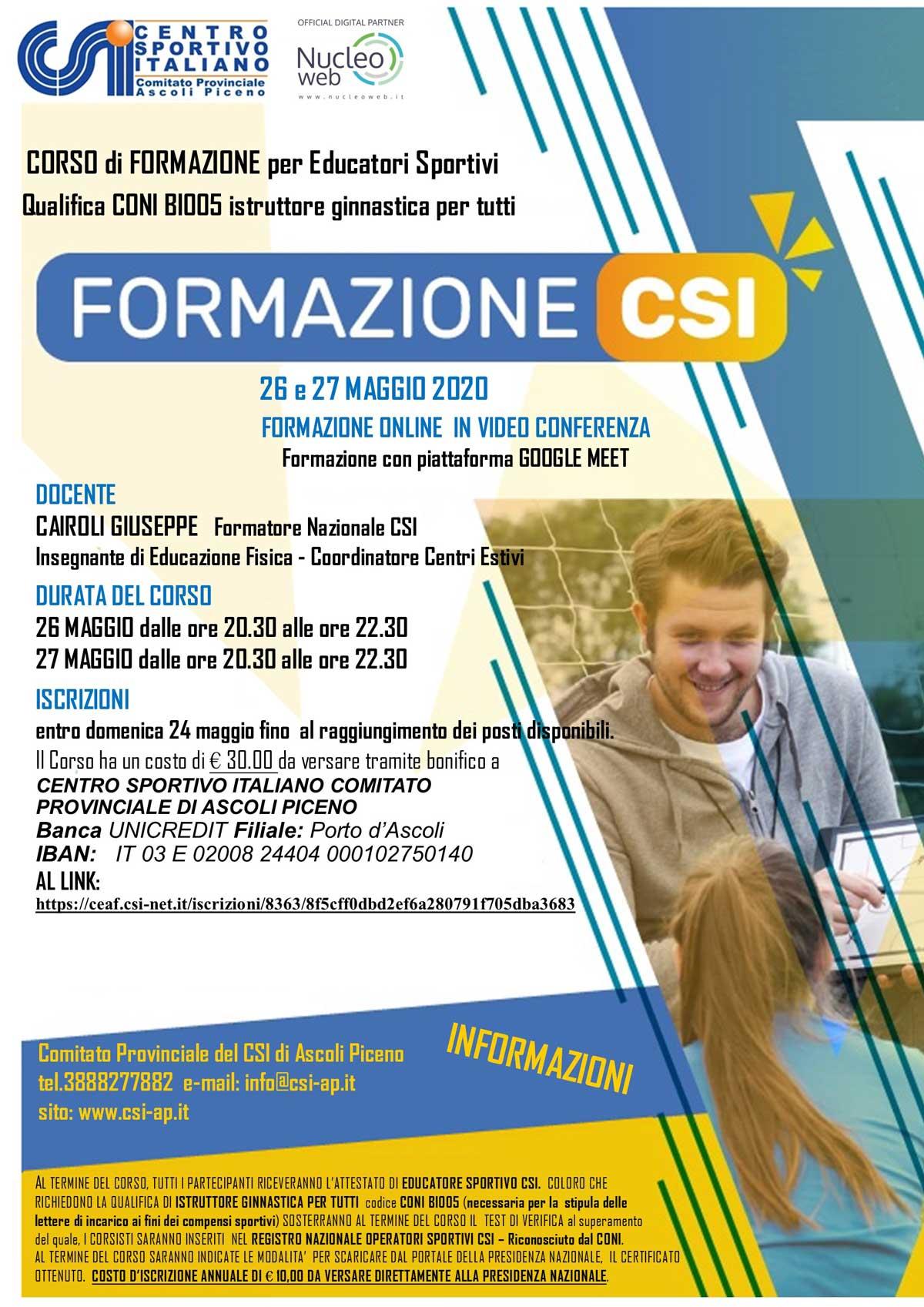 locandinaFORMAZIONE2020