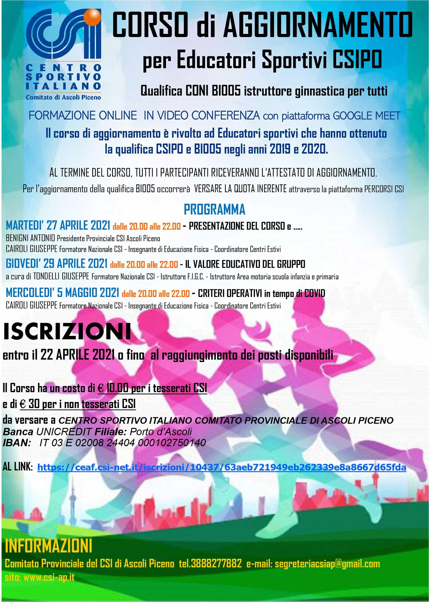 locandinaFORMAZIONE2021on-line